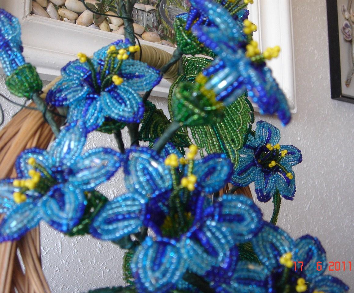 По теме цветы колокольчики из бисера